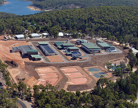 Mundaring Waste Water Treatment Plant